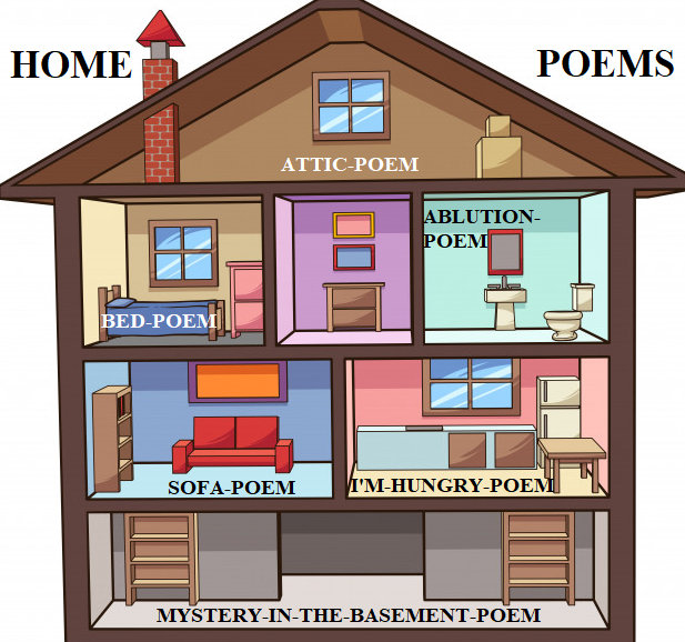 home poems logo