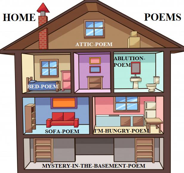 home poems logo